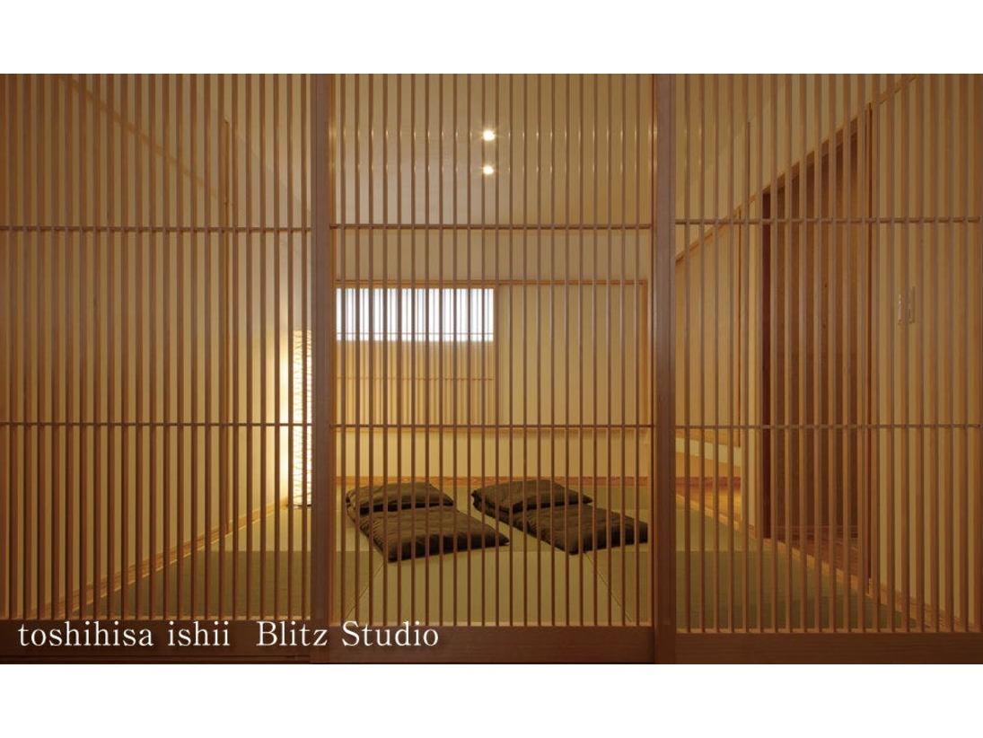 【別邸をりから|折橋の間】2階には寝室と畳スペースがございます。