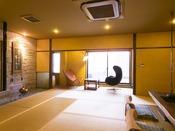 檜木露天・石の内風呂付き和室 「山吹」-yamabuki-(和室)<山吹>