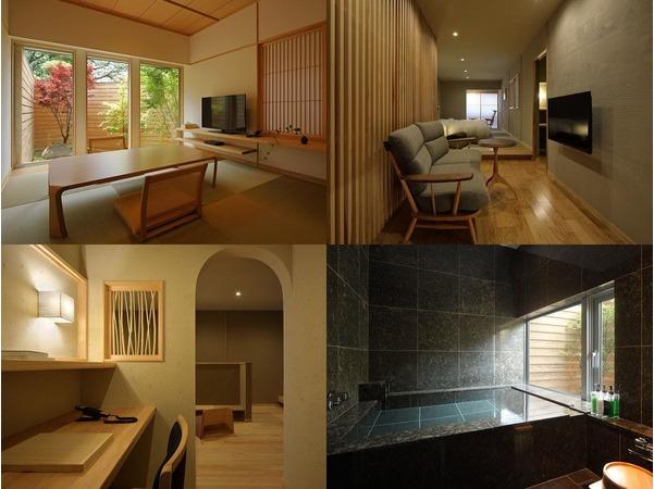 温泉石風呂付き和洋室『別邸をりから』