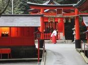 箱根神社の境内にある九頭龍神社