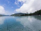 大自然と一体になる心地良さ…。「浮雲の湯」露天風呂