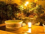 「森の湯」露天風呂