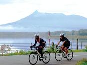 大沼湖が1周できるサイクリングおすすめ大沼湖周遊道路