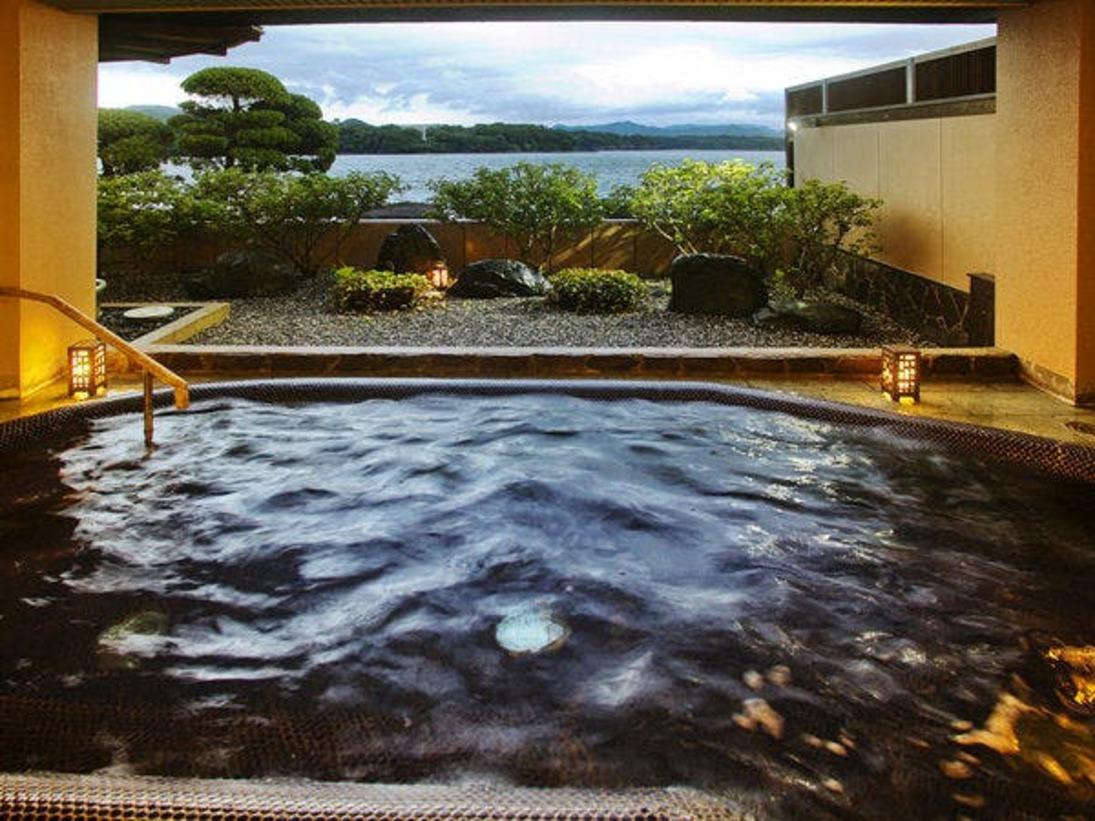 ◆露天風呂【夕日の湯】萩温泉・男女入替あり