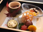 【秋の旬彩膳】前菜:秋の前菜