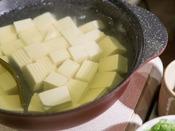 <朝食バイキング>湯豆腐(冬限定) 夏は冷奴になります