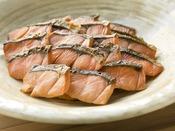<朝食バイキング>鮭の塩焼き