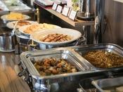 <朝食バイキング>地産地消を取り入れた約30種類の和洋朝食バイキング