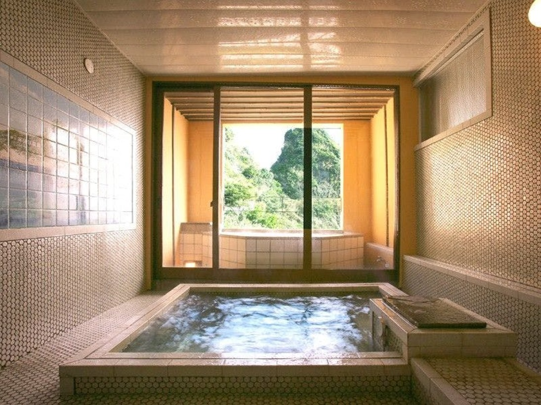 *海の見える貸切空間半露天&気泡内湯を独り占めできます。