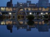 平和記念公園 夜景(ホテルから市電で約20分)