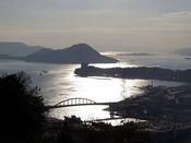 広島黄金山から見た景色