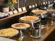 <朝食バイキング>和食派にも洋食派にもヘルシー派にも嬉しい種類豊富な朝ごはん