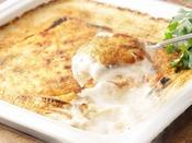 【シーズンバイキング1例】地元産豆腐と豚挽肉のグラタン