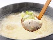 【シーズンバイキング1例】季節の鍋物 鶏スープノみぞれ鍋