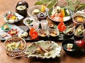 【日本料理やまぼうし】料理長が心をこめて調味した、季節の和会席ディナー