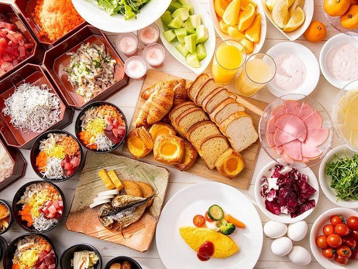 【Tポイント1%】【10種類の各種プールも無料】朝食ビュッフェ!シンプルステイ(朝食付)