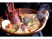 熱海 ふふ 名物「海香鍋」(日本料理限定、プランまたは別注料理。事前予約制)