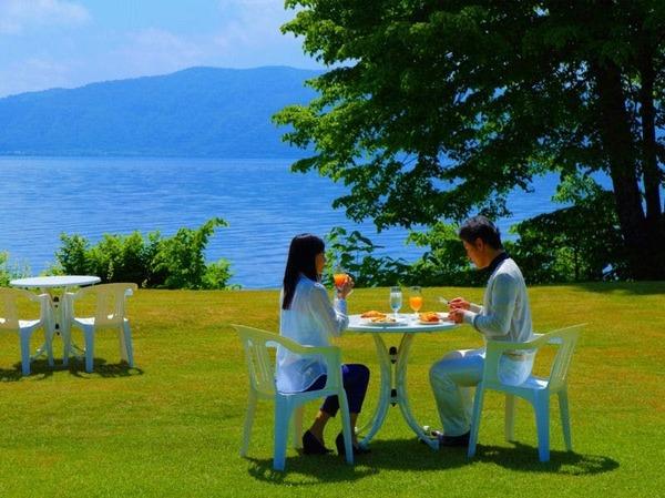 【朝食】ガーデン