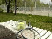 【テニスコート】4面の本格オムニコート