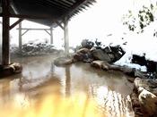 【鬼押温泉】浅間山の麓から湧き出る源泉 四季折々の景観が楽しめる露天風呂