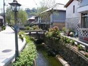 【周辺観光】下田の情緒漂う!了仙寺前のペリーロード。ホテルより車で8分。
