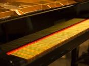【イタリアングリルシャンタン】世界に一つしかない未来鍵盤ピアノ