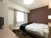 デラックスダブルルーム ベッド180×210cm