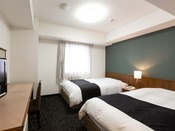 ツインルーム ベッド120×210cm
