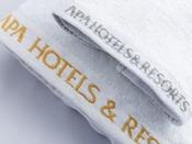高品質なタオルをご用意いたしております。