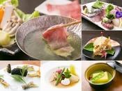 和洋懐石料理~Modern styleハーフコース。懐石ハーフコースの一例。