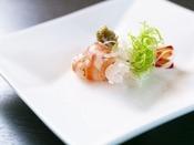 【プレミアムコース】車海老鮑/お任せ料理の一例