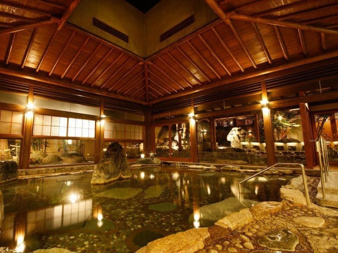回遊式大庭園風呂 山の湯「右の湯エリア」2019年10月1日 リニューアルオープン!