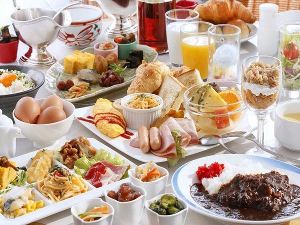 カフェテリア方式の朝食イメージ
