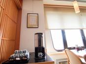 【和朝食】和食会場にもセルフコーヒーコーナーをご用意しております。