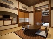 ゆっくりくつろげる和室と寝室