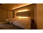 雪月花特選階 寝室の一例
