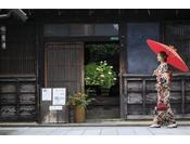 明治5年に建てられた「旧笠井邸」無料見学することもでき、当時の様子も楽しんでいただけます。