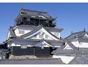 岡崎城は徳川家康が生まれた城として有名です。 1959年には天守が3層5階建てに復興され、2006年には日本100名城に選定されました。 城内はテーマを分けた歴史資料館となっており、展示物やジオラマシアターなどで歴史を紹介、5階の展望室からは岡崎市内が一望できます。