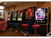 ゲームコーナーではUFOキャッチャーやスロット等をお楽しみ頂けます。