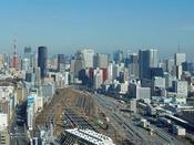 メインタワー38F 「味街道 五十三次」からの眺望(イメージ)