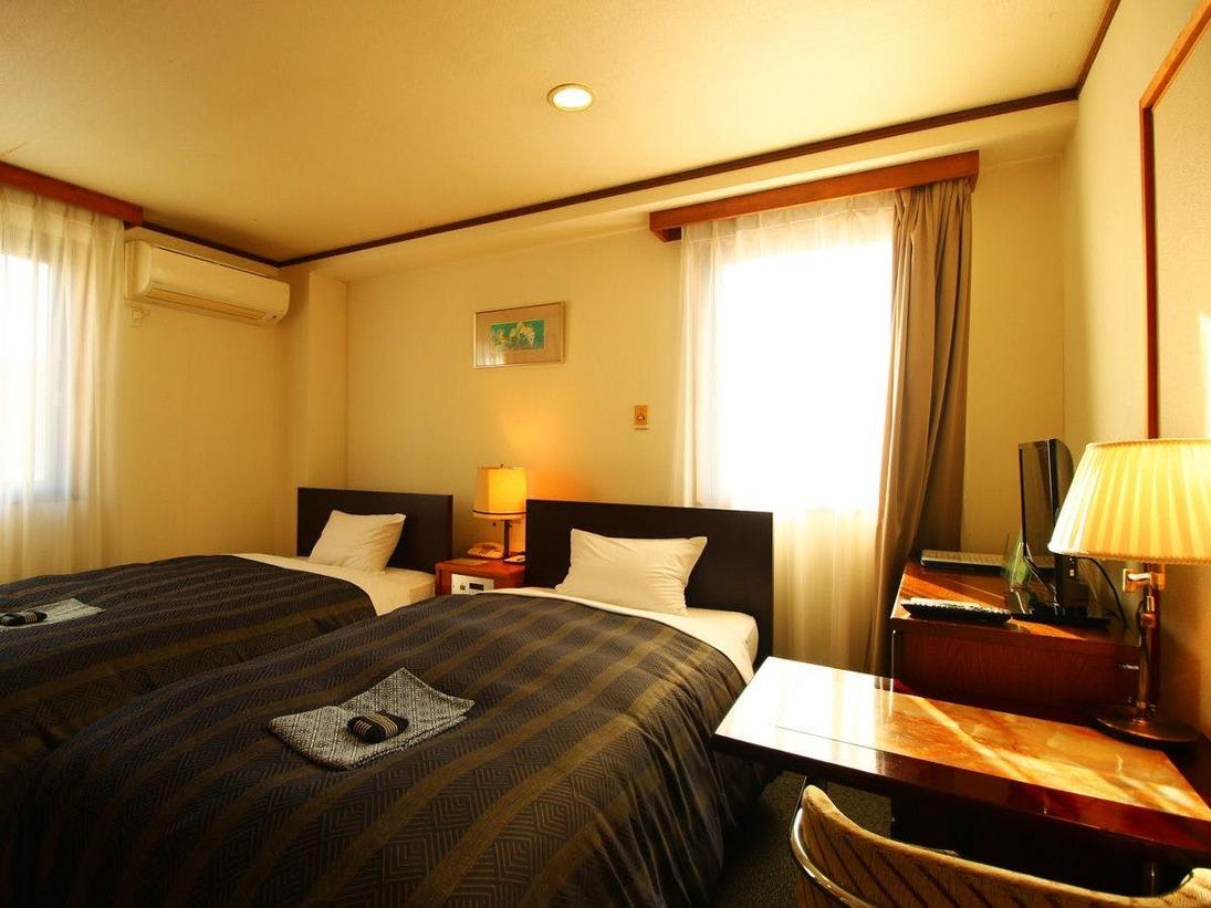 【南館】 和洋室☆ツイン+和室のお部屋はファミリーに人気♪