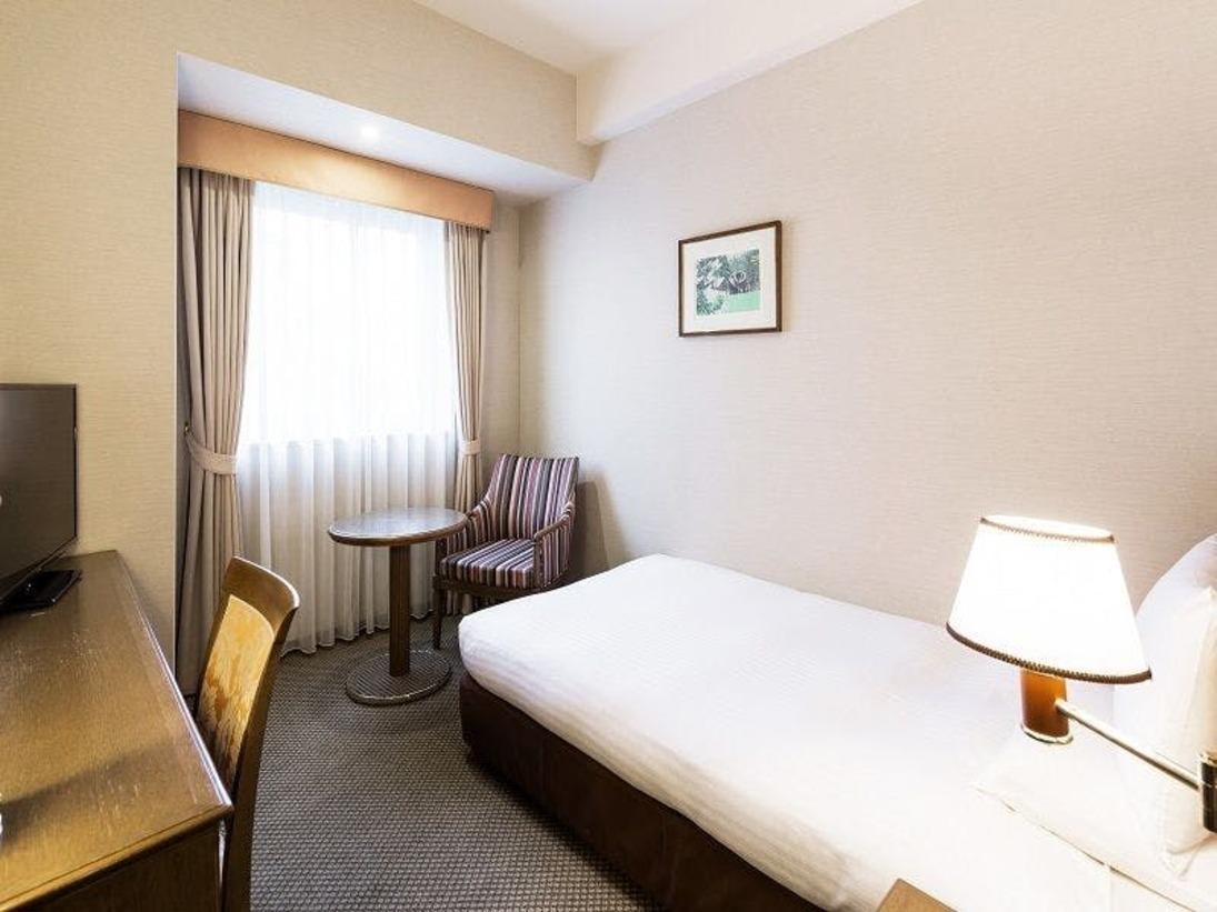 スタンダードシングルルーム<16平米>旅慣れたお客様にもご満足いただける設備とサービスを整えました。