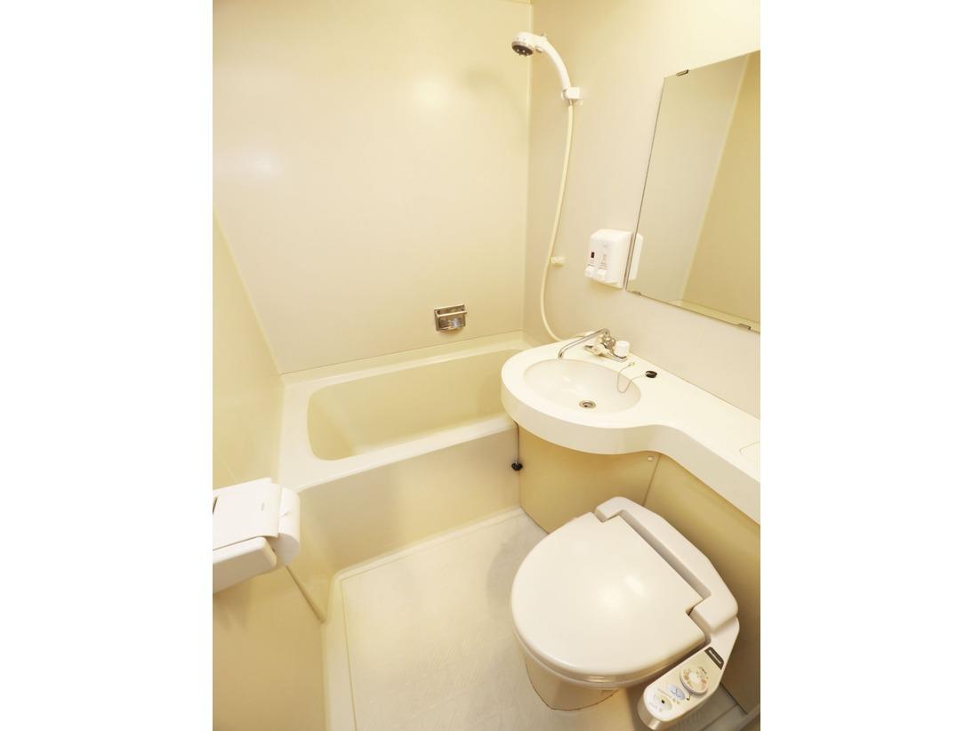 全室に完備しているバスルームの一例です。