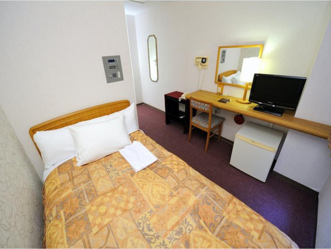 2階と3階に位置するベーシックな「シングルルーム」。