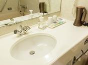【ツインルーム】バスルーム一例