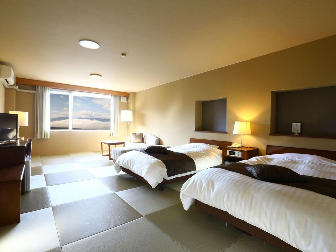 ■【本館】琉球畳の和モダン特別室 一例