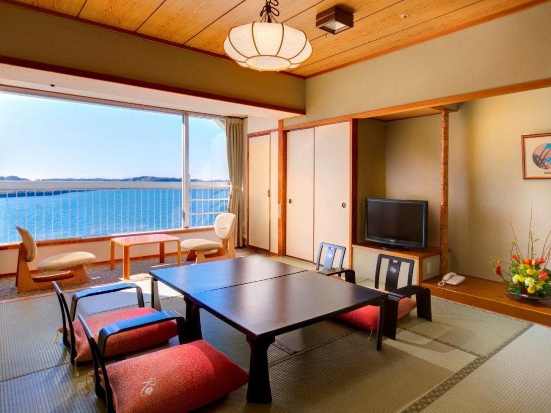 浜名湖側に面した標準和室10畳