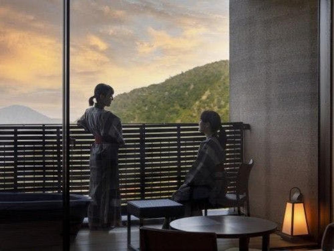 外輪山からは箱根の自然が感じられます