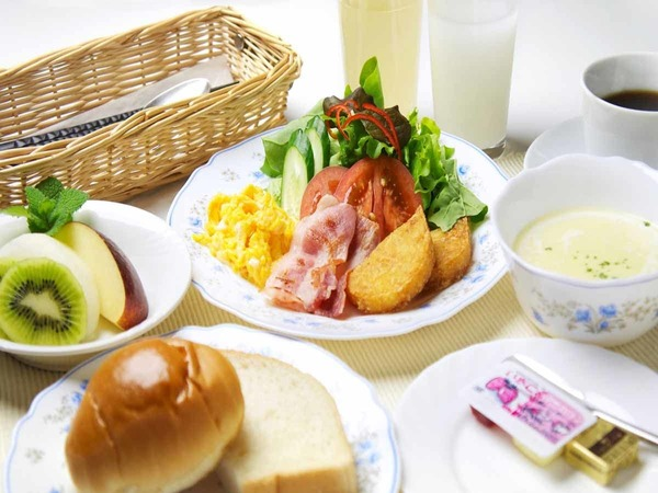 *ご朝食例/洋食・和食を日替わりでご提供