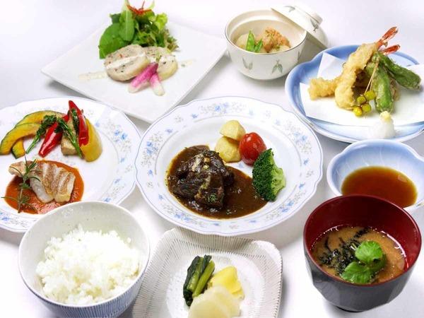 *ご夕食例/和洋中の旬の食材を使った夕食